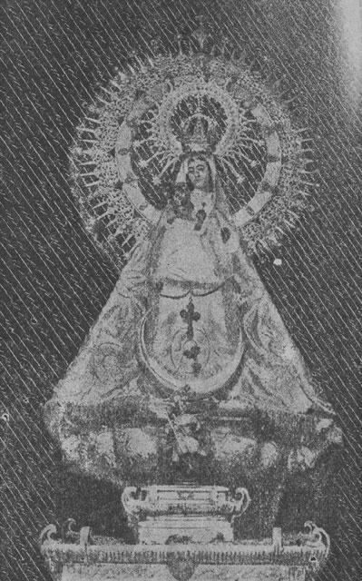 Fundación Joaquín Díaz Imagen de Nuestra Señora de la Fuencisla Segovia