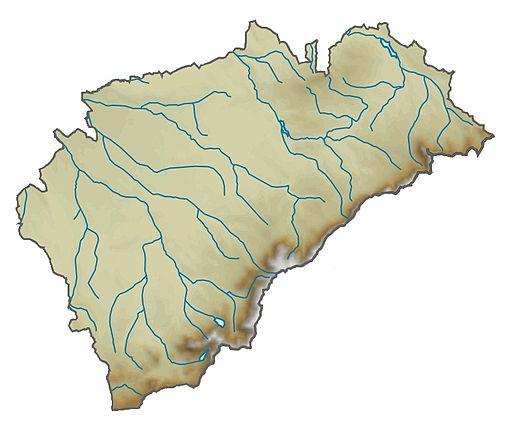 Provincia de Segovia relieve